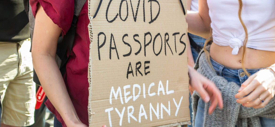 Freedom Day Means Covid Passports Day