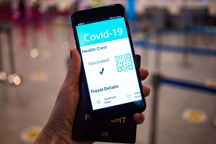 'Covid ID's Vaccine Passports Scrapped for the Winter.'