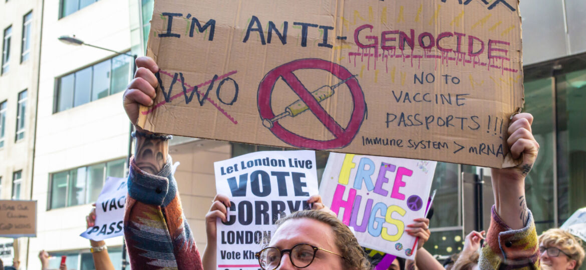 Vaccine Passports UK Trades Freedoms For Illusion of Government Protection.