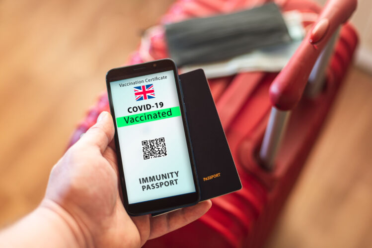 'Vaccine Passports All Roads Lead to ID2020 Digital Identity.'